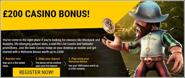 Bwin 200 casino bonus