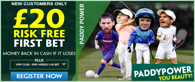Paddy Power Free Bets 30